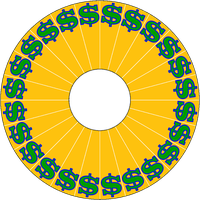 Germanname's Pressman DX Dollar Sign Wheel by germanname