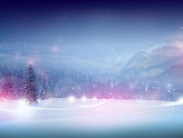 Snowy Lights by pete-aeiko