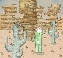 A Wish to Be a Cactus by Hannakin