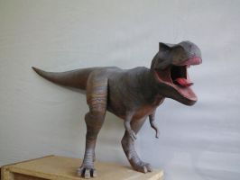 T rex papercraft final model by Alejandr0-M