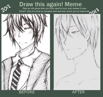 Meme  Before And After by RiceBalls4Me