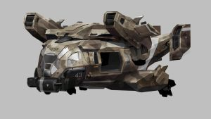 Call Of Duty Advanced Warfare Helicopter by indri4