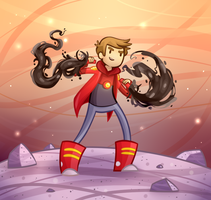 The Bravest Warriors - Danny (with BG) by Renz1521
