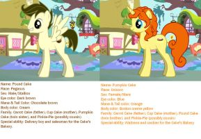 MLP: Older Pound and Pumpkin Cake by KessieLou