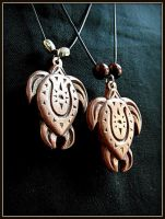 TURTLE PENDANTS by MassoGeppetto