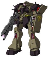 AMS-119 Geara Doga by unoservix