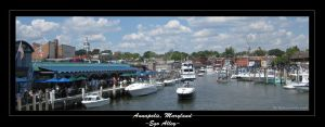 Historic Annapolis - Ego Alley by flightresponse