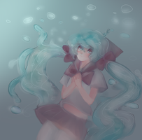 Bottle Miku by Lumies