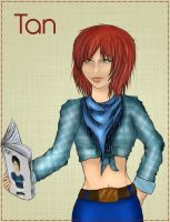 Girl Book by Tan-Chou