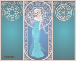 GoddessMaker: Frozen: Elsa the Snow Queen by Saphari