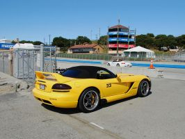 Dodge Viper to starting grid by Partywave