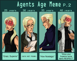 AGENT 63 AGE meme P.2 by Miha-Hime