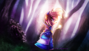 Lady of the Lake by chillis-art