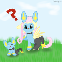 Who's that Pokemon Fluttershy? AT by catz537