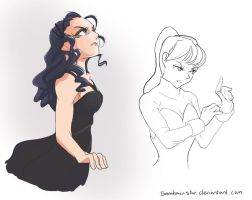 Catching Fire Doodle 2 by SamhainStar