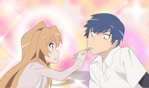 Toradora: I'll feed you by NinaWH94
