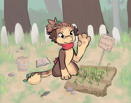 Farming Trial pt 1 - The Crop by RascalWabbit
