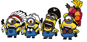 Despicable Me 2 - Y.M.C.A by Dulcechica19