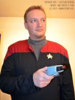 Star Trek: Voyager Captain (STOCK)7 by Joran-Belar