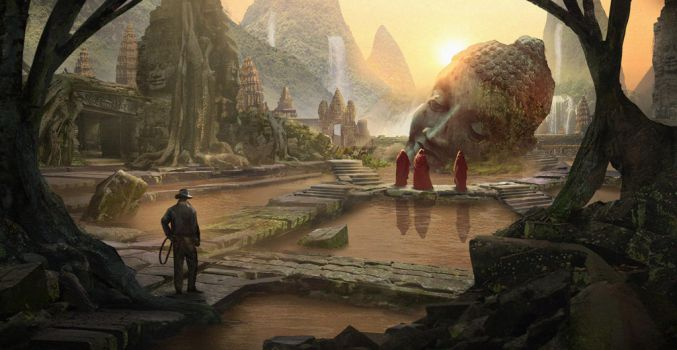 Indiana Jones and the Secret of the Angkor by eddie-mendoza