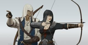 ACC: The Archery Lesson by DameElizabeth