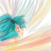 Colors in the wind by Zoehi