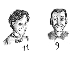 Doctors caricatures by Speck--Of--Dust