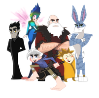 ROTG Danny Phantom style by Kittykatpaws