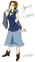 Maris from book 1 of Sombulus by aksarah