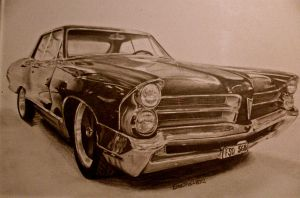Pontiac Catalina by Ebelila