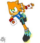 Ale The Hedgehog Sonic Riders:Zero Gravity Style by AleTheHedgehog99