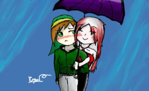 Under my Umbrella by xMissLovelessx