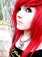 Leda- Red by LedaMonsterBunnyLove