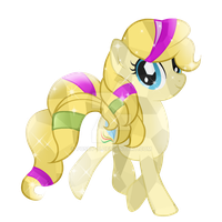 Comission-9 Chidey Crystal Pony by Posey-11