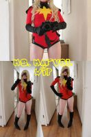 WIP: Ms. Marvel by SugarBunnyCosplay