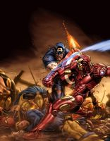 civil war color battle by vic55b