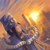 sunset - boogiePop Phantom by matsuru