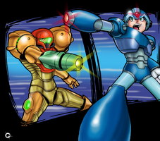 Samus vs X Vol. 2 by Dark-Ozuka