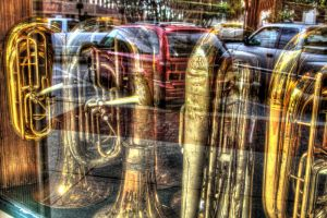 French Horns on Palafox St. by efcooper