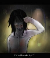 Jeff the Killer - Just Rain [Speedpaint] by Melo-Cake