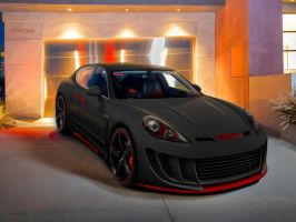 Porsche Panamera by blackdoggdesign