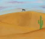 CWL - Sand by black-labrador