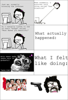 One Direction Rage by InvaderAir