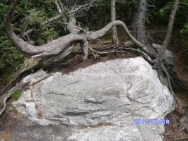 Rock couch on square rock by jashinist112