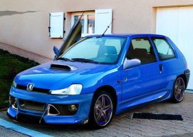 Peugeot 106 Virtual Tuning by Zero1122