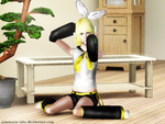 Vocaloid: Kagamine Rin - The Sims 3 by Xjapanese-catX