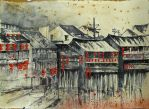New Year is in a village.China by Metttko