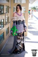 Final Fantasy X Lulu costume by HoodedWoman