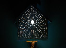 BIRDHOUSE LAMP by MassoGeppetto