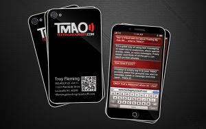TMAO business cards by Stephen-Coelho